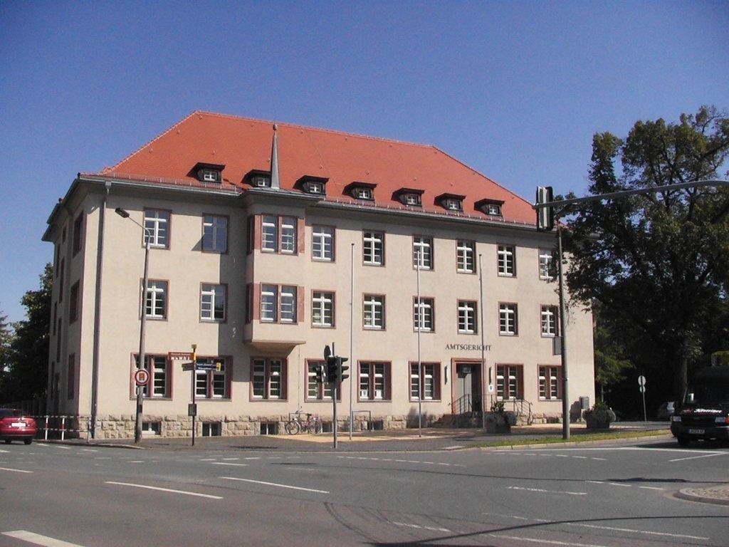Bild: Gerichtsgebäude des Amtsgericht Arnstadt