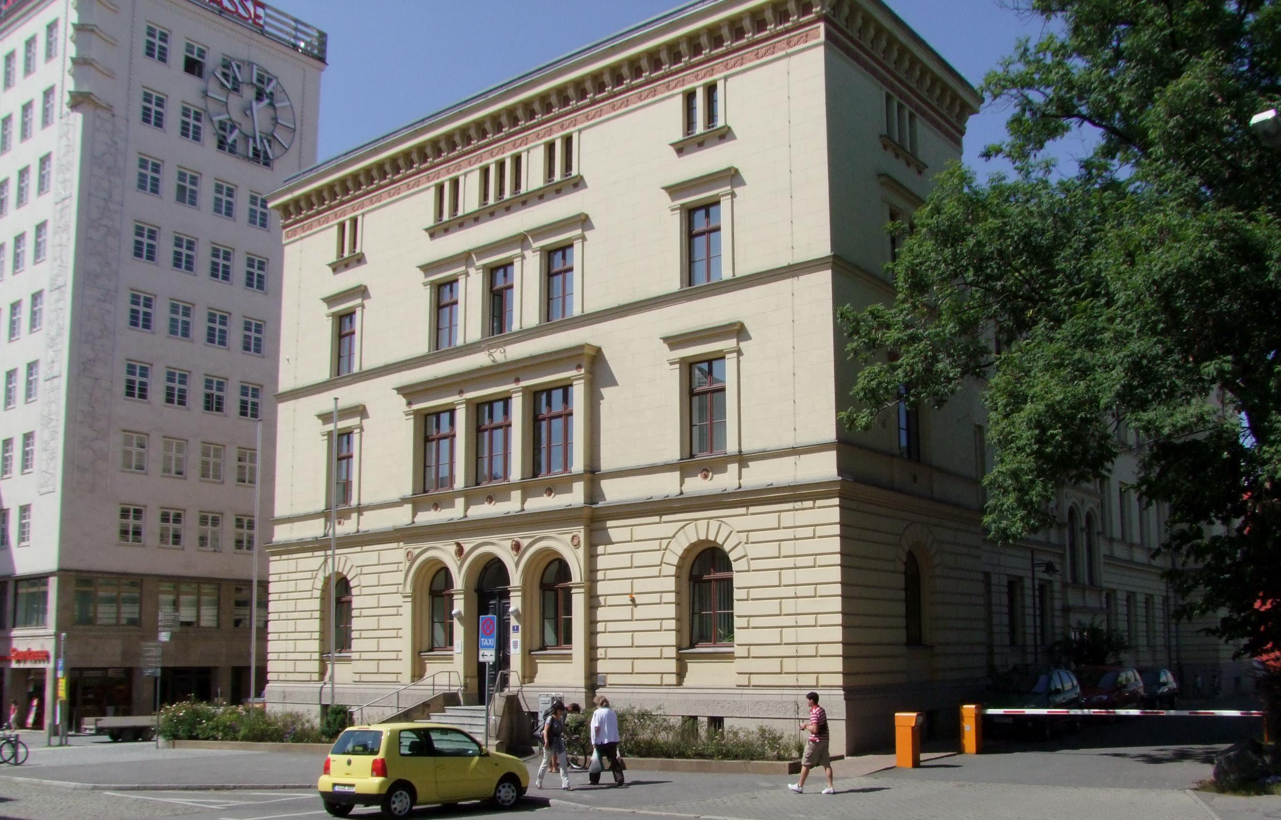 Bild: Gerichtsgebäude des Amtsgerichts Gera