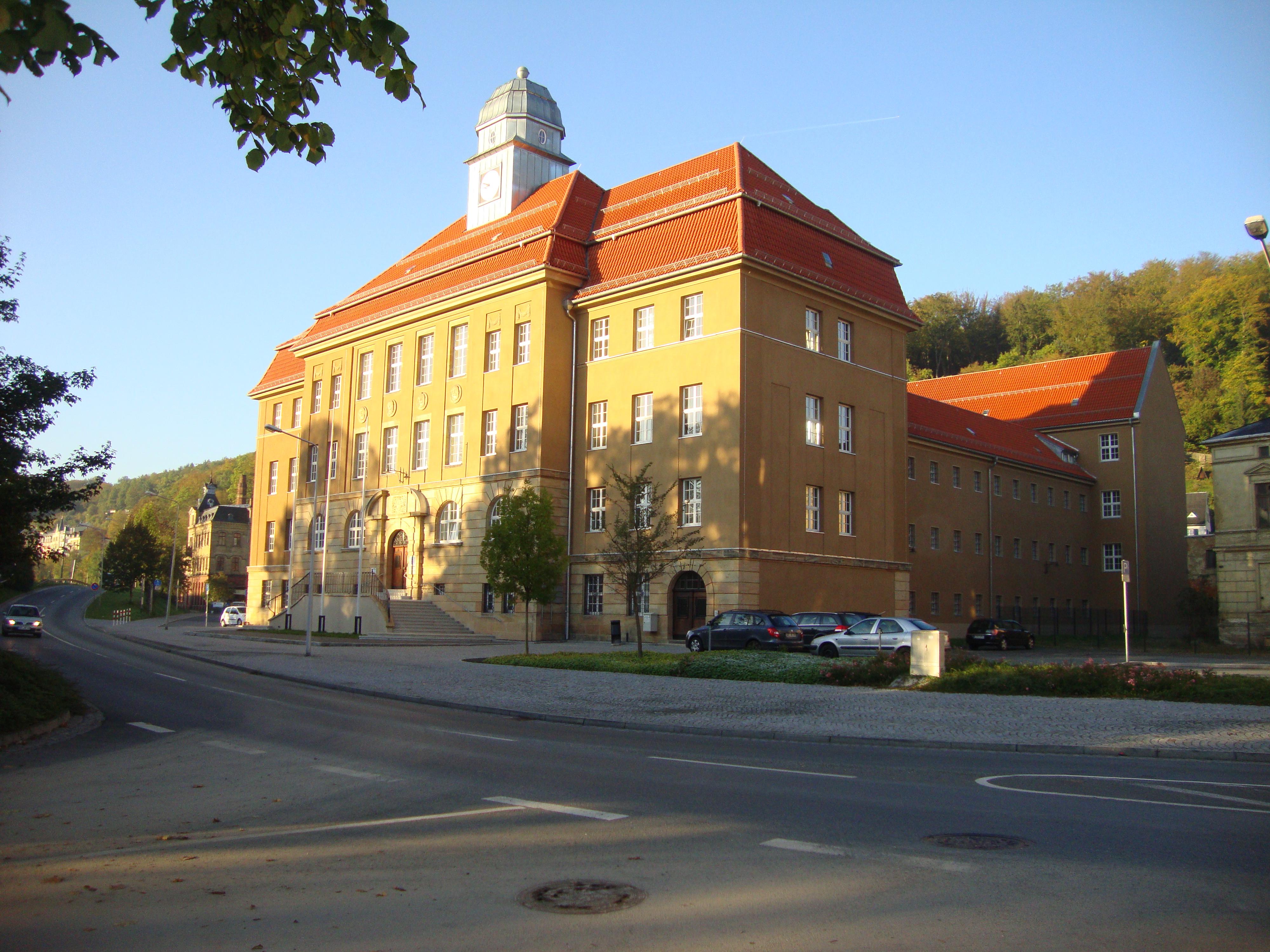 Bild: Gerichtsgebäude des Amtsgerichts Greiz