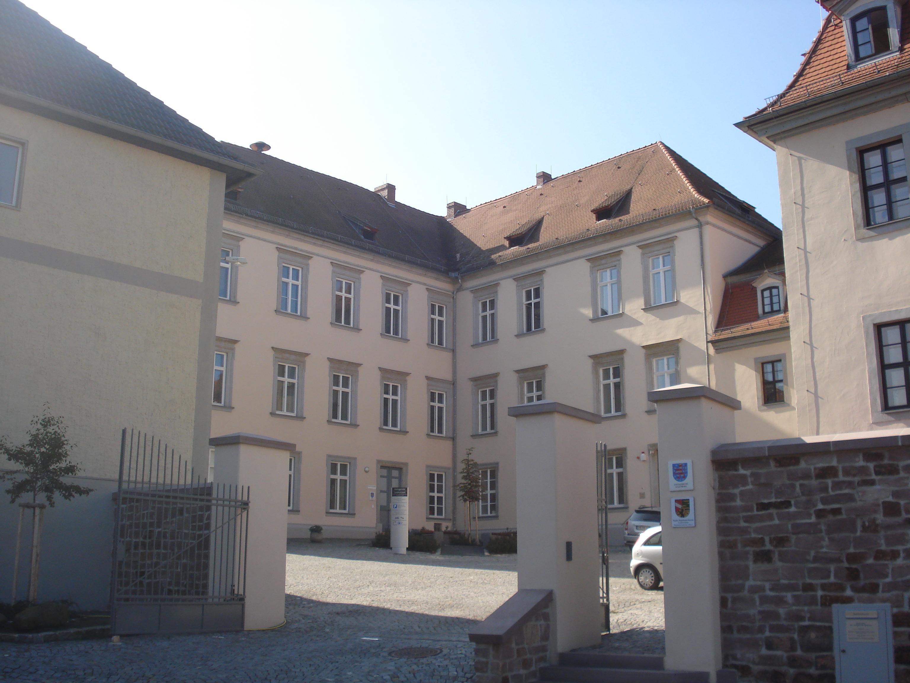 Bild: Gerichtsgebäude des Amtsgerichts Stadtroda