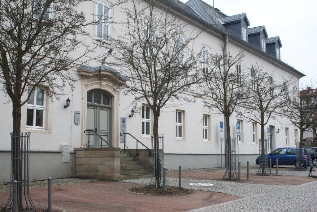 Bild: Gerichtsgebäude des Amtsgerichts Bad Salzungen