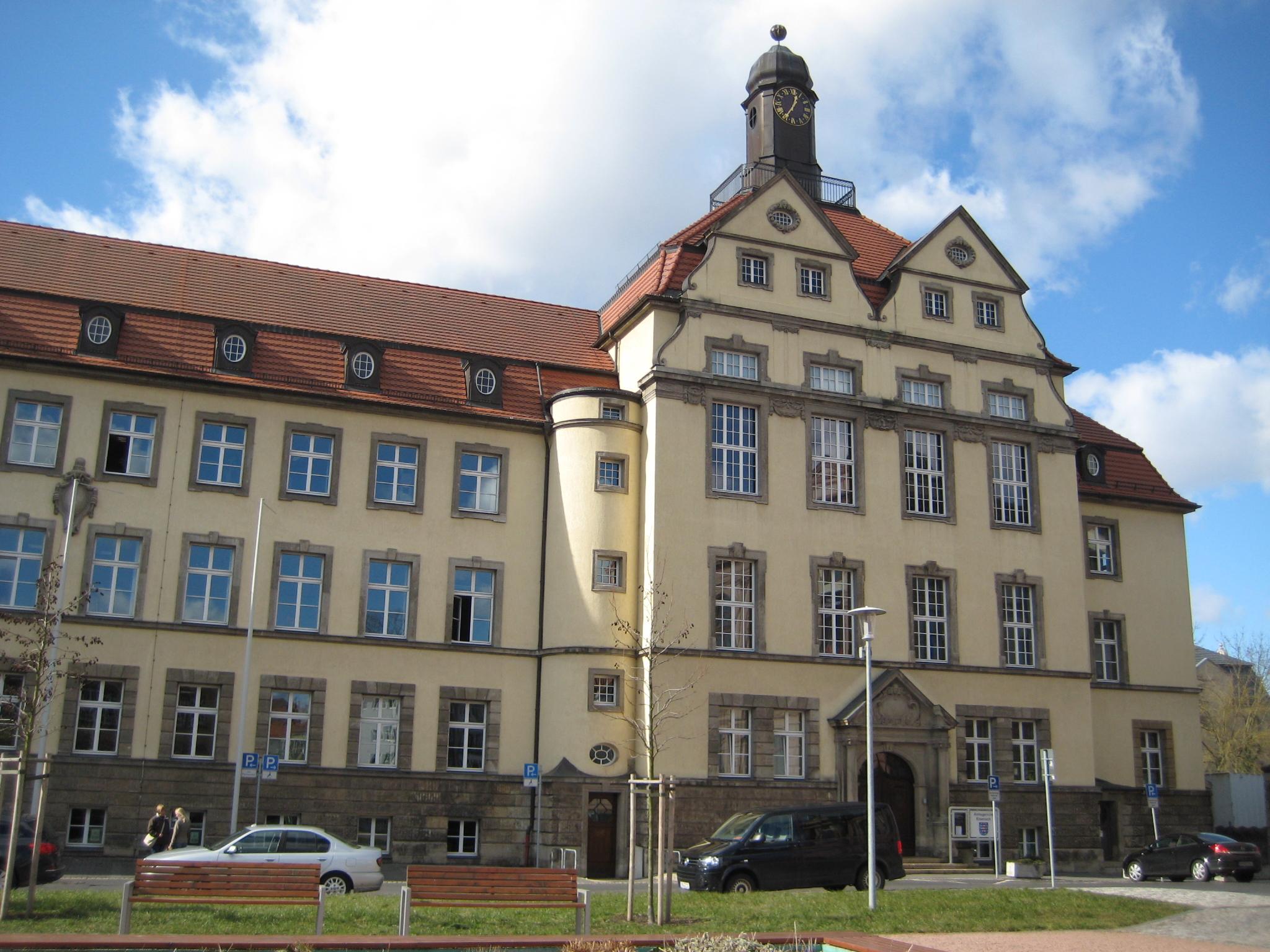 Bild: Gerichtsgebäude des Amtsgerichts Eisenach