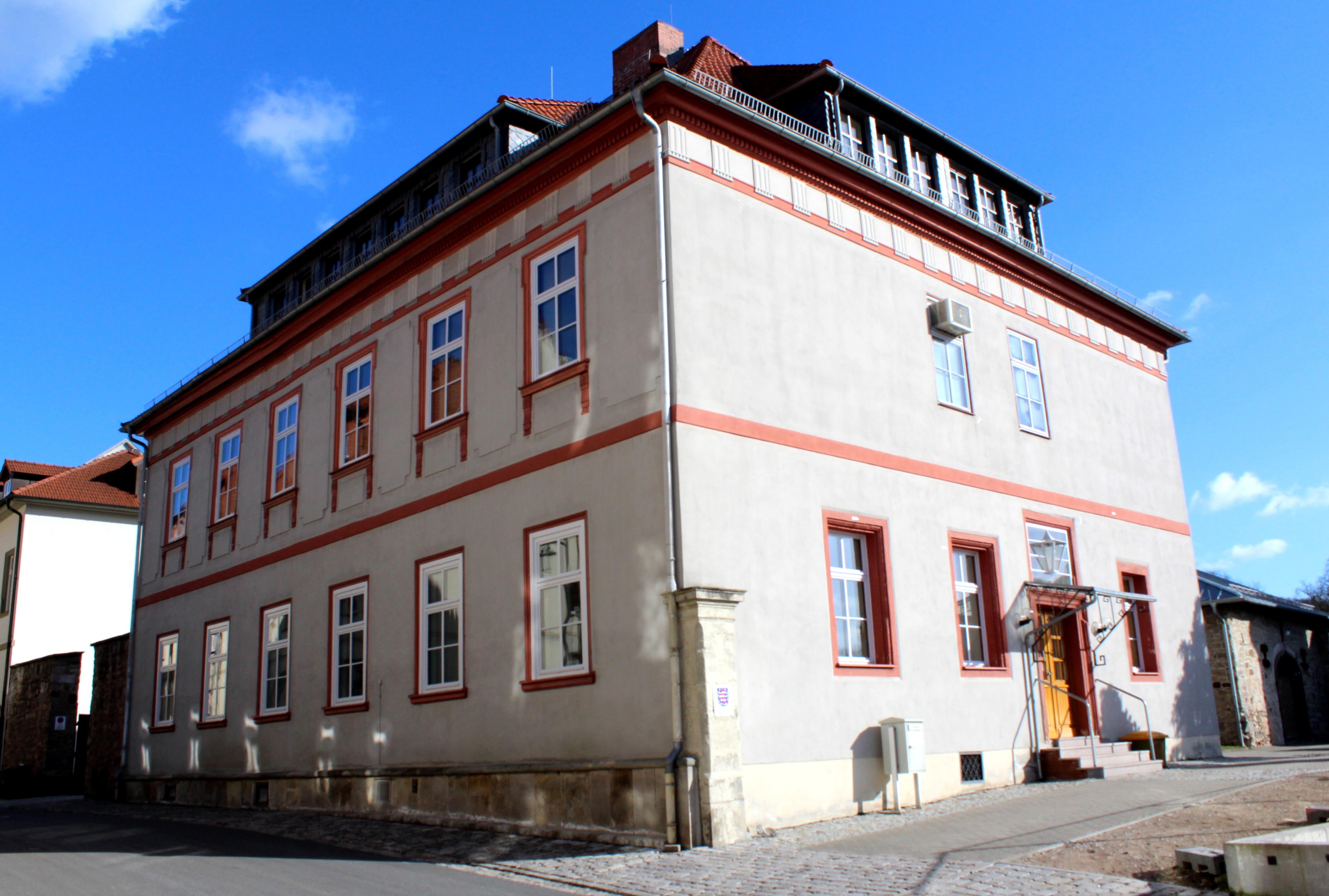 Bild: Gerichtsgebäude des Amtsgerichts Hildburghausen