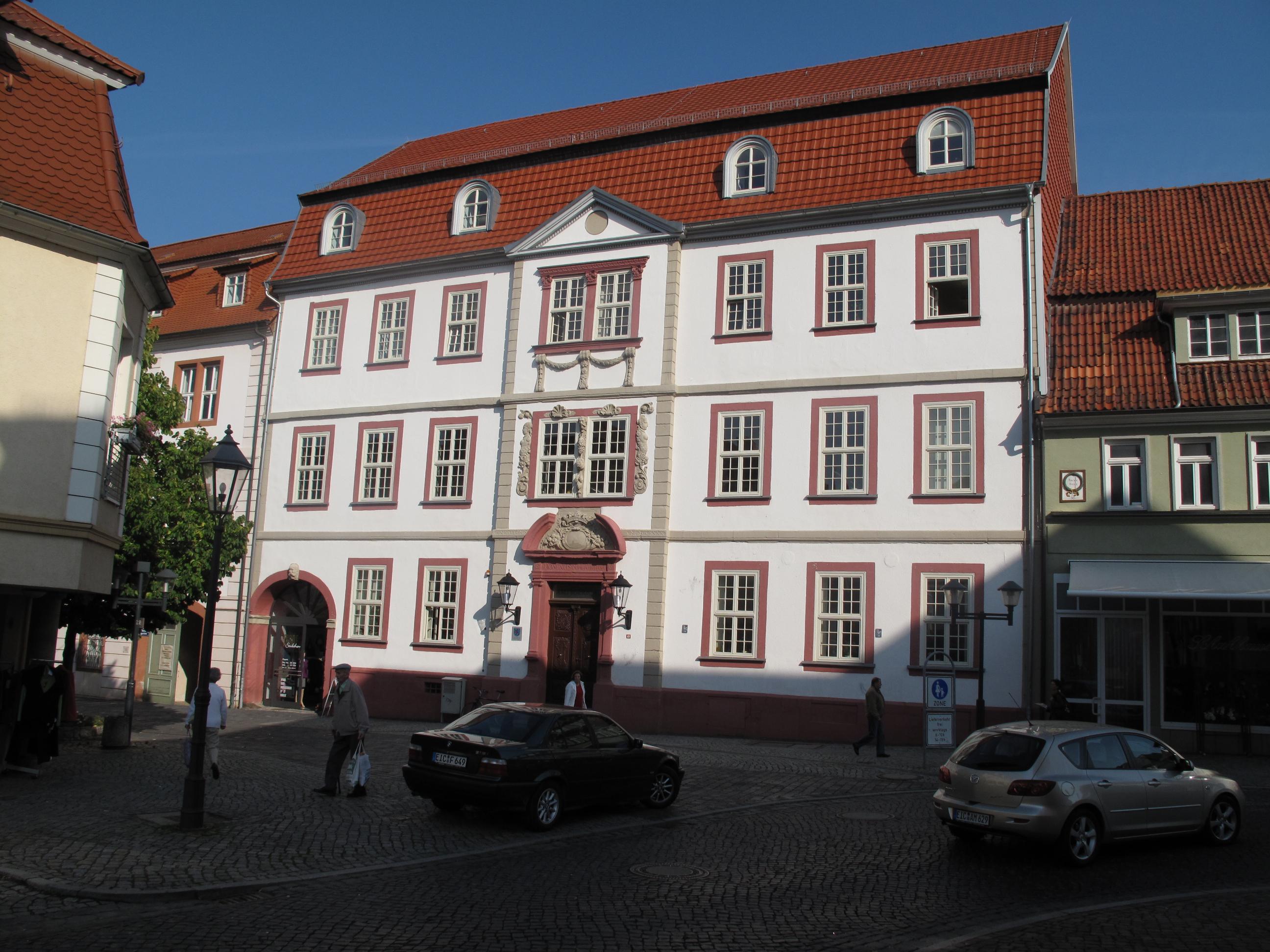 Bild: Gerichtsgebäude des Amtsgerichts Heilbad Heiligenstadt