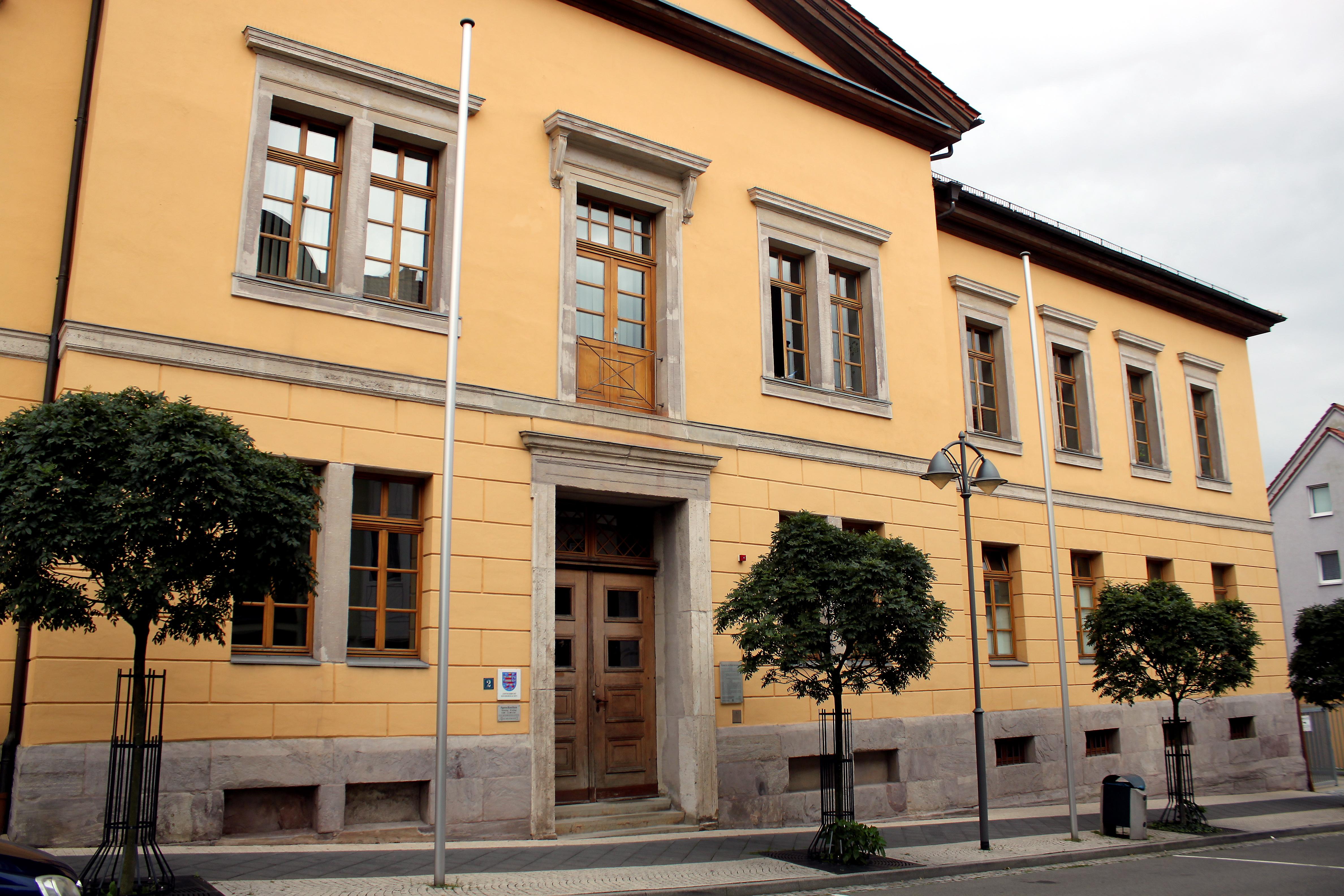 Bild: Gerichtsgebäude des Amtsgerichts Sondershausen