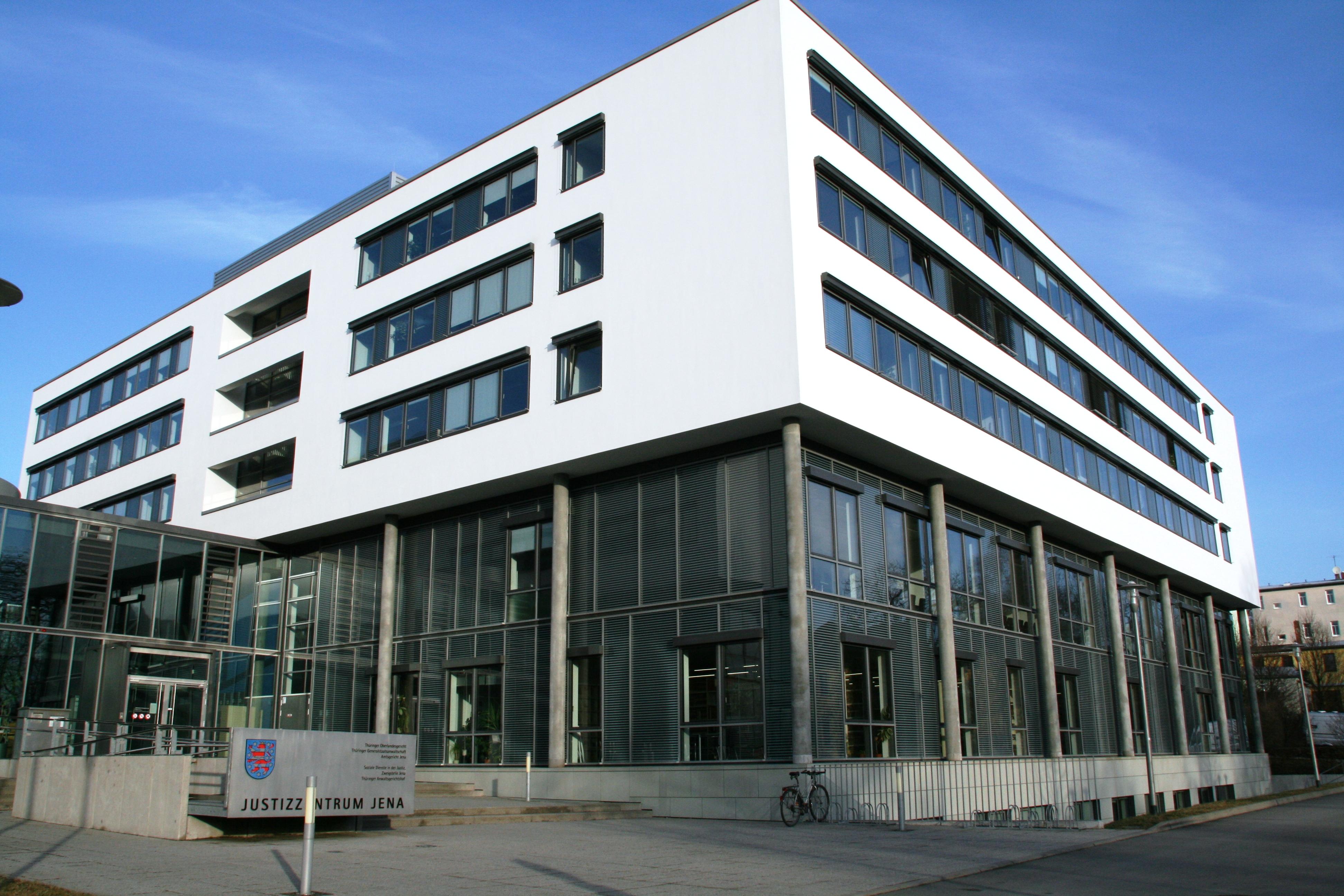 Bild: Gerichtsgebäude des Thüringer Oberlandesgerichts