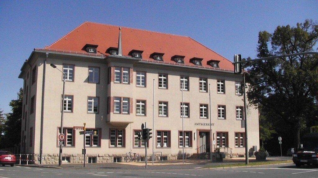Bild: Gerichtsgebäude des Amtsgerichts Arnstadt